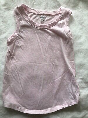 Old Navy Toddler Girl's Light Pink Tank Top Size 4T