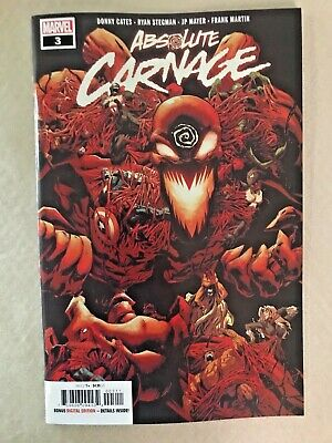 Absolute Carnage #3 Cover A Donny Cates Stegman Marvel 2019 NM 1st Venom Hulk