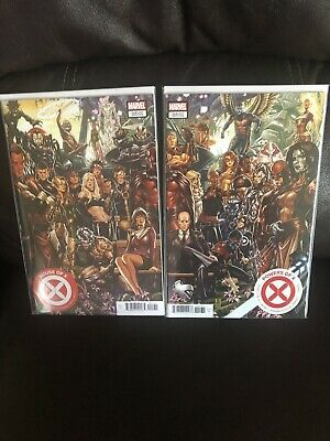 House Of X #1 & Powers Of X #1 Mark Brooks Connecting Cover Variant Set