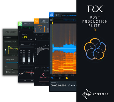 RX Post Production Suite 3  Plugins Effects Plug-in ✅ ( 1200 $ Value )