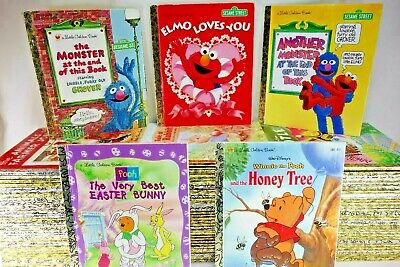 Little Golden Books Lot of 10 Unsorted Vintage Classics Disney No Writing