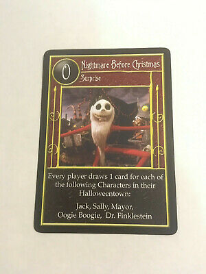 The Nightmare Before Christmas Card Game, Nightmare Before Christmas