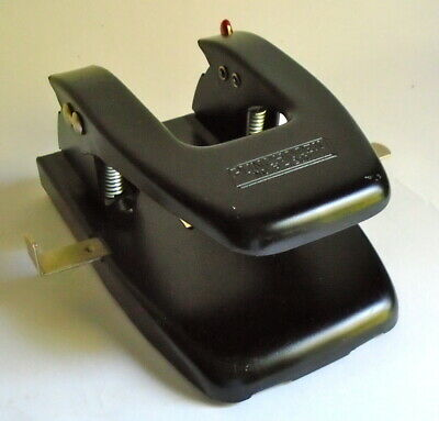 Vintage Rolodex Punchodex No. P-200 2 Hole Cutter Punch