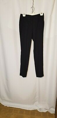 Ivanka Trump Navy Blue Straight Leg Dress Pants Work/Career Sz 2 Inseam 32