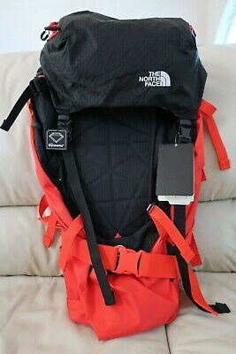 The North Face Cobra 52 Fiery Red TNF Black Backpack Summit Series NF0A3BXS S/M