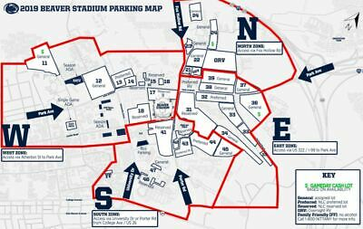 Penn State-Purdue RESERVED Parking Lot 31 (Old Purple) 10/5 Homecoming!!!