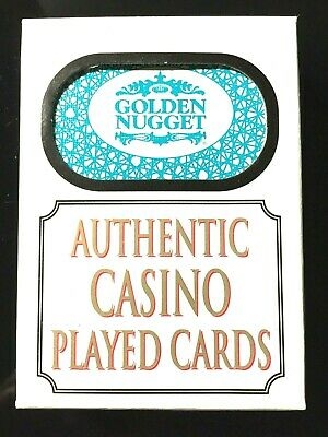 Authentic Las Vegas Nevada Golden Nugget Hotel Casino Playing Cards Deck Poker