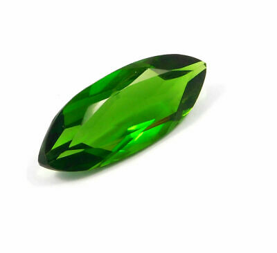 Treated Faceted Emerald Gemstone 39CT 38x15x8mm  RM17922