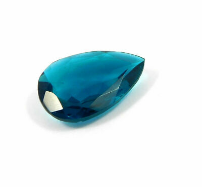 Treated Faceted  Apatite Gemstone 33CT  30x20mm  RM17970