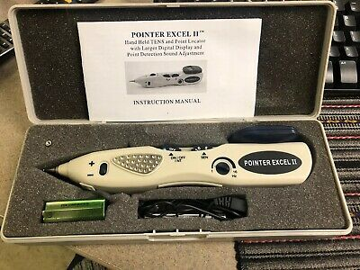 Pointer Excell II Electric Acupuncture Meridian Pen Point Detector Massage Pain