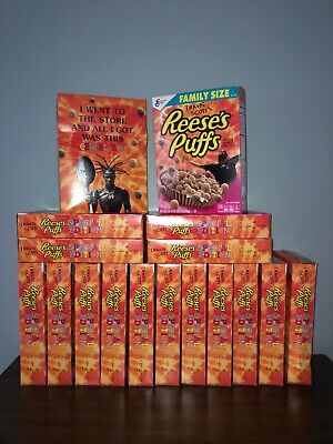 Travis Scott X Reeses Puffs Cereal Cactus Jack LIMITED FAMILY SIZE