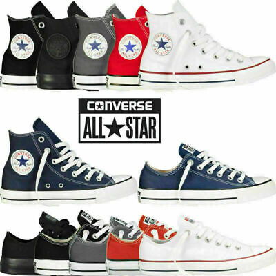 Converse All Star Chuck Taylor Mens Womens Unisex High/ Low Tops Trainers Pumps