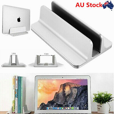Vertical Laptop Stand Desktop Aluminum MacBook Stand Adjustable Dock For MacBook