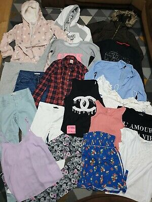 Huge Bundle Of Girls Clothes 13-14years #446 H&M NEW LOOK STAR WARS GAP F&F