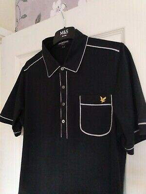 Mens Lyle And Scott Short Sleeve Polo Shirt  Size Large