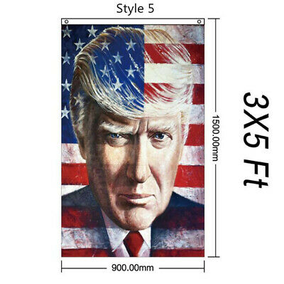 2020 Trump President Flags Keep America Great Flag 3x5 ft Banner 【Style 5】