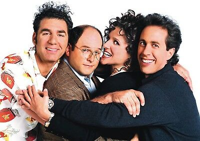 SEINFELD TV Show PHOTO Print POSTER Series Cast Art Jerry Elaine Kramer George 6