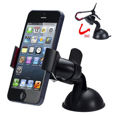 360° Car Windscreen Dashboard Mobile Phone Mount Holder Sucker Adjustable
