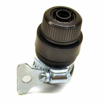 Standard Hose To Tap Connector / Fitting Universal Female with Jubilee Clip GA
