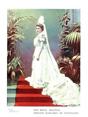 Princess Margaret of Connaught (The Crown Princess of Sweden) By Bassano - 1899