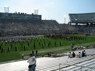 2 Penn state vs Purdue tickets Homecoming 25 yard line 6 rows from the field