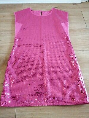 Girls Sequin Pary Dress Age 9-10 by George
