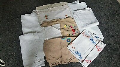 10 1920s/1930's Table Runners/Cloths