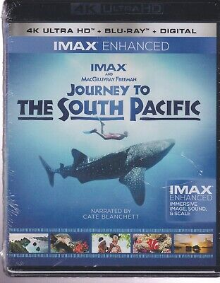 Imax Enhanced Journey To The South Pacific 4K Ultra Hd & Bluray & Digital Set