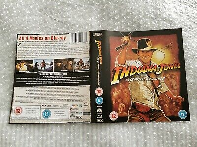 Indiana Jones The Complete Adventures (Replacement Sleeve Only) Blu-ray