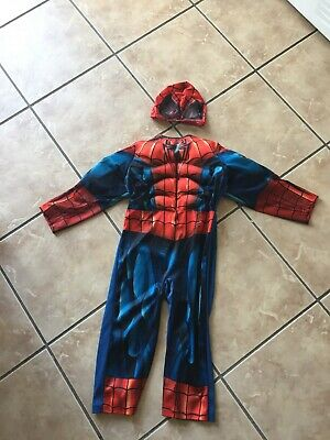 MARVEL SPIDERMAN | Fancy Dress Costume | Age 3-4yrs | Used Immaculate Condition