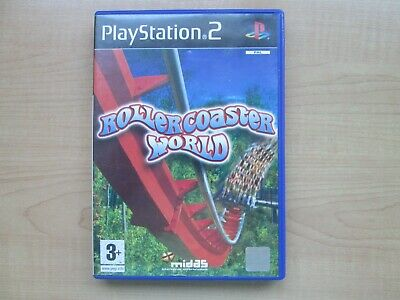 Playstation 2 - Roller Coaster World - Manual INCLUDED