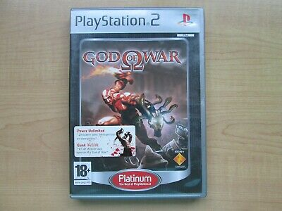 Playstation 2 - God of War - Manual INCLUDED