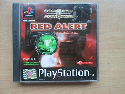 Playstation 1 - Command & Conquer - Red Alert - Manual INCLUDED
