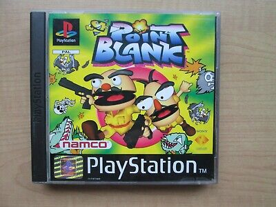Playstation 1 - Point Blank - Manual INCLUDED