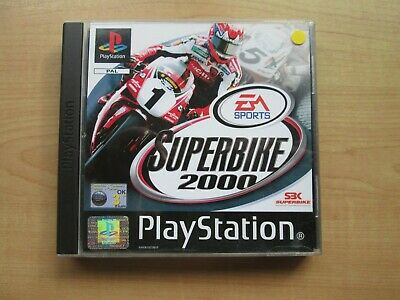Playstation 1 - Superbike 2000 - Manual INCLUDED