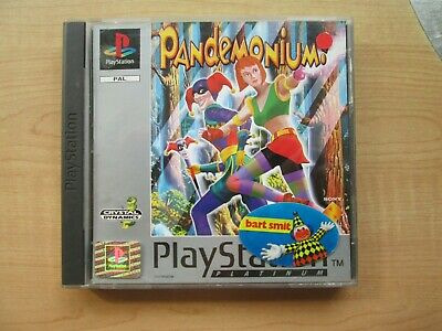 Playstation 1 - Pandemonium - Manual INCLUDED