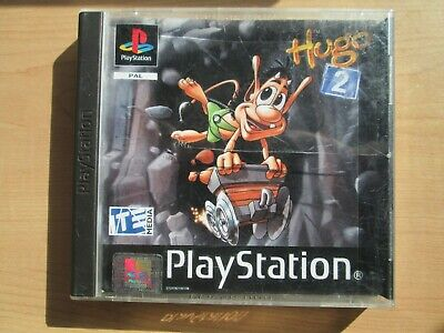Playstation 1 -HUGO 2 - Manual INCLUDED