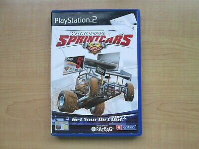 Playstation 2 - World of Outlaws Sprintcars - Manual INCLUDED