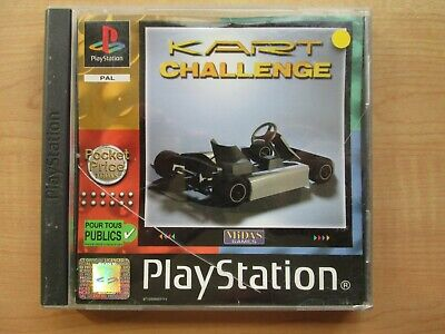 Playstation 1 - Kart Challence - Manual INCLUDED