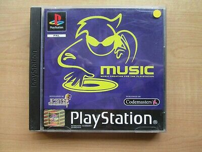 Playstation 1 - MUSIC - Manual INCLUDED