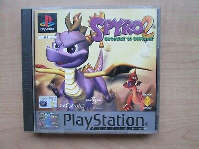 Playstation 1 - Spyro 2 Gateway to Glimmer- Manual INCLUDED