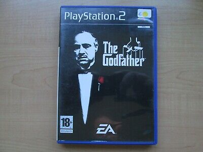 Playstation 2 - The Godfather - Manual INCLUDED