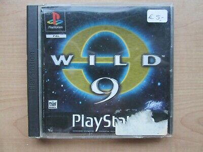 Playstation 1 - Wild 9 - NO Manual INCLUDED