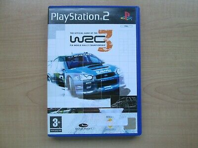 Playstation 2 - WRC 3 - Manual INCLUDED