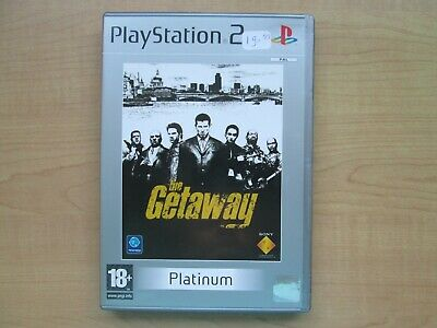 Playstation 2 - The Getaway - Manual INCLUDED