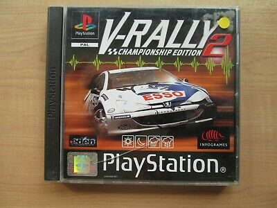 Playstation 1 - V-Rally 2 Championship Edition - Manual INCLUDED