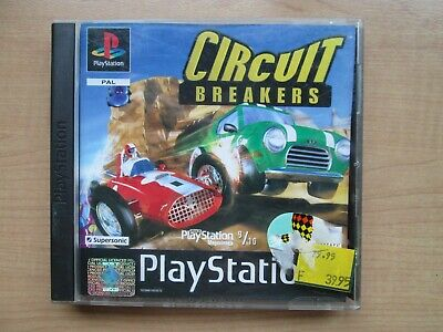 Playstation 1 - Circuit Breakers - Manual INCLUDED