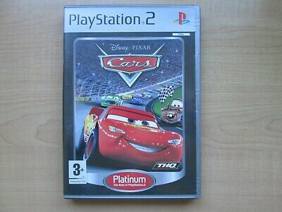 Playstation 2 - CARS - Manual INCLUDED