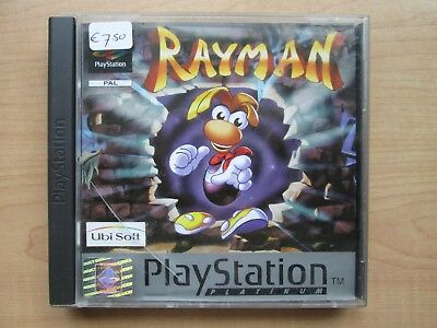Playstation 1 - Rayman - Manual INCLUDED