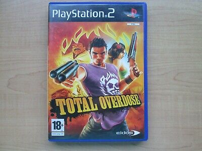 Playstation 2 - Total Overdose - NO Manual INCLUDED